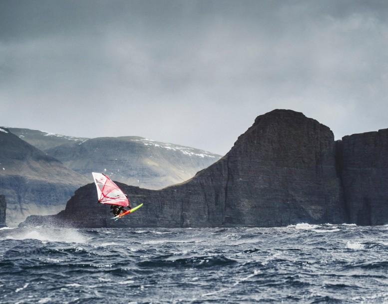 faroe islands, infaroe, windsurfing, sport, extreme
